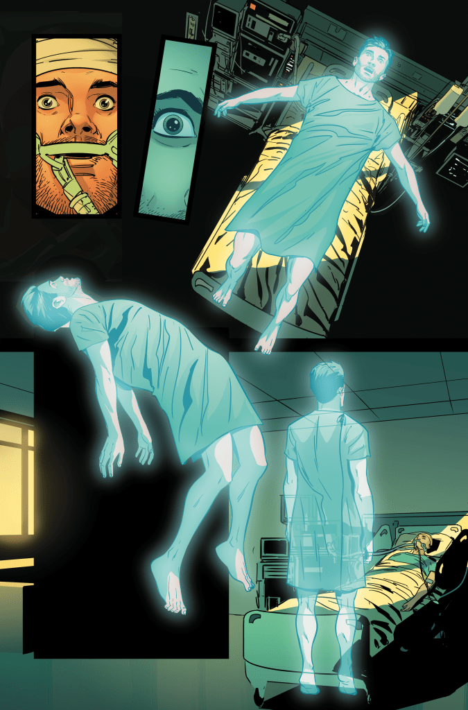 AfterShock Announces New Occult Thriller 'Out Of Body' From Peter Milligan And Inaki Miranda