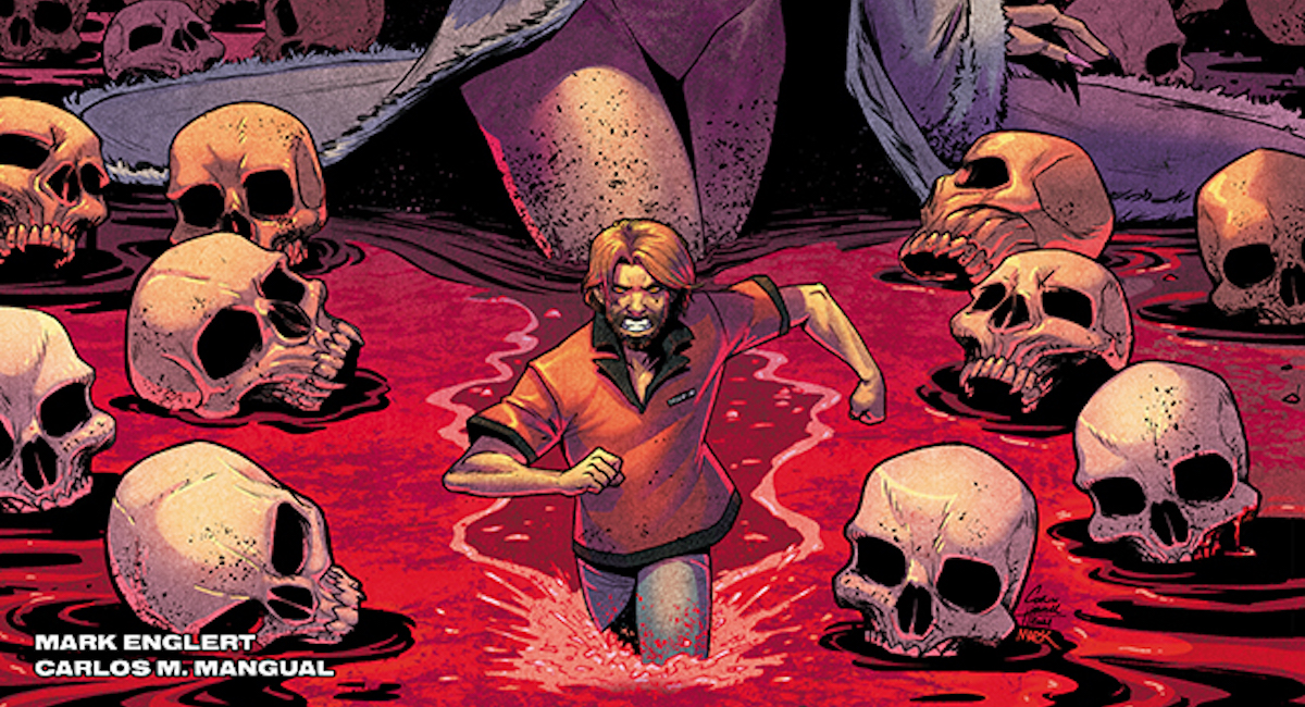 Seeley & Howell's DARK RED returns for new WHERE ROADS LEAD one-shot