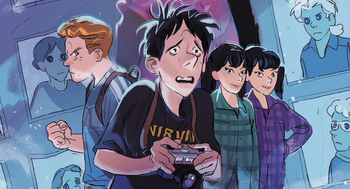 Hamilton & Matrone's middle-grade GN FEARBOOK CLUB coming next year from AfterShock