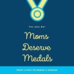 button to buy a medal for a mom