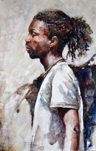 Louisiana Watercolor Society International Exhibit 1st Place winner