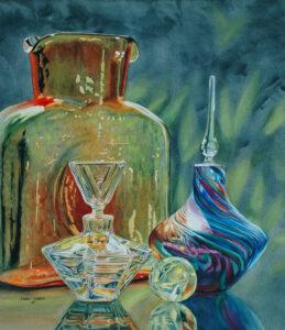 award winning art, watercolor, Louisiana Watercolor Society