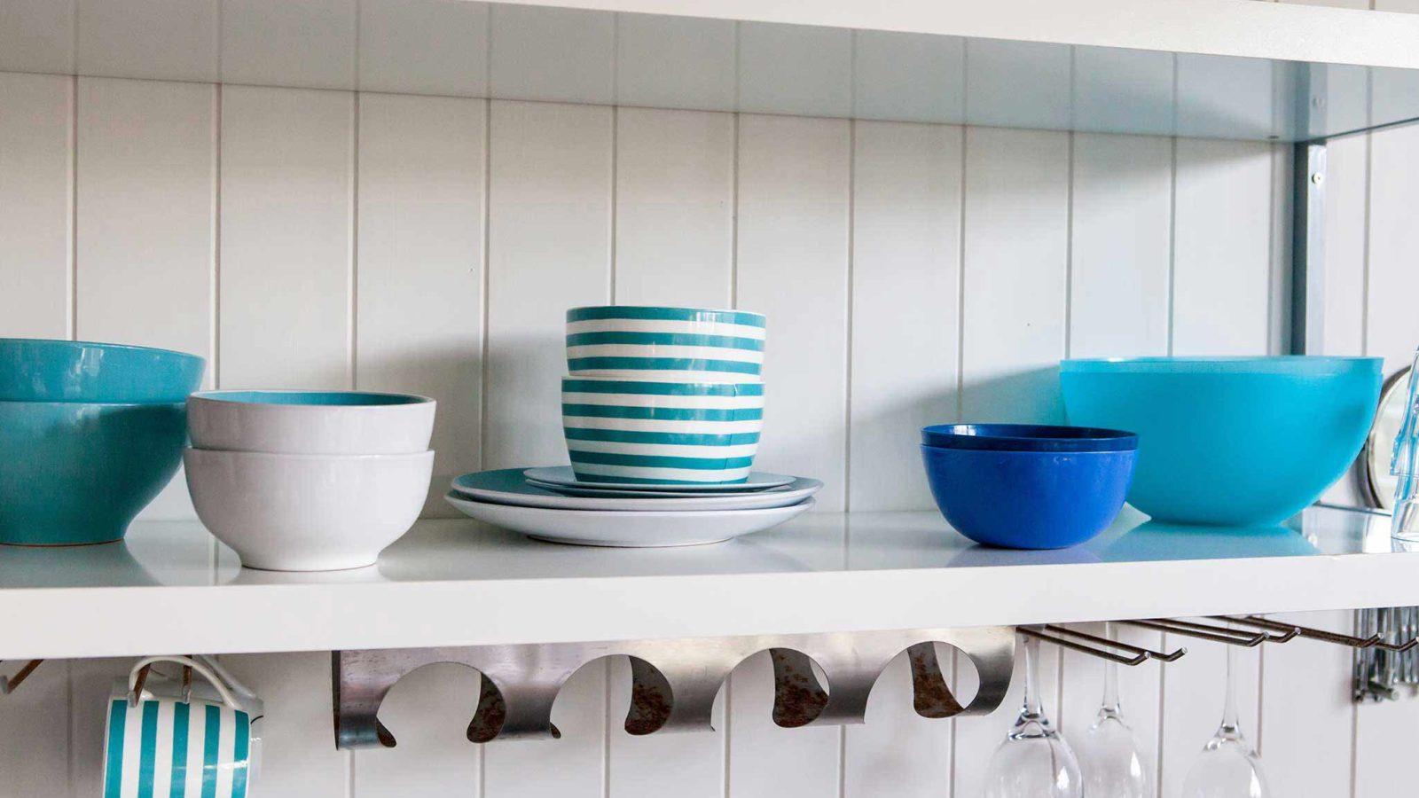 Tidy Kitchen Shelf