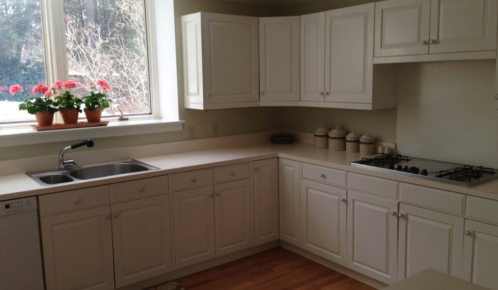 Staging of the Harders Kitchen