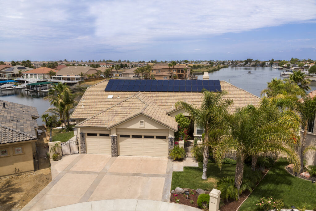 Residential solar installation in Discovery Bay, CA