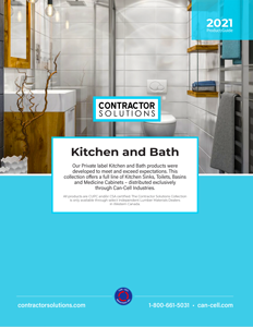2021 Contractor Solutions KITCHEN AND BATH