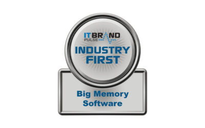 Industry First — Big Memory Software