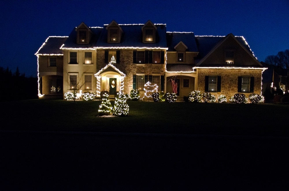 Christmas Light in West Chester PA