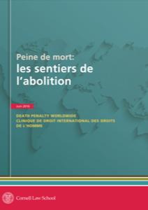 Front cover of Peine de mort: les sentiers de l'abolition.