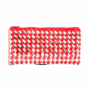 Large Wallet - Red & White