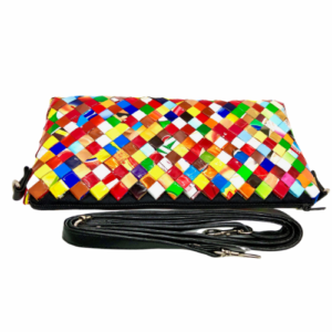Crossbody Purse - Light Confetti