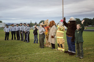 A big thank you to all our officials, chain gang and mascots!!