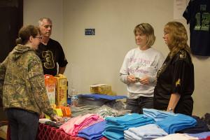 J & L Venture kept everyone warm with Pig Bowl T-Shirt Screen printing!