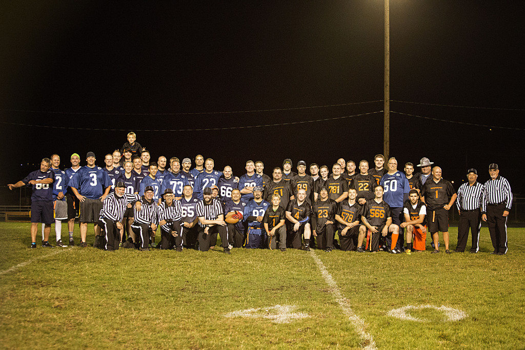 What a great team!  Thank you to all of our Law Enforcement Officers and Pig Bowl Officials for another great year!