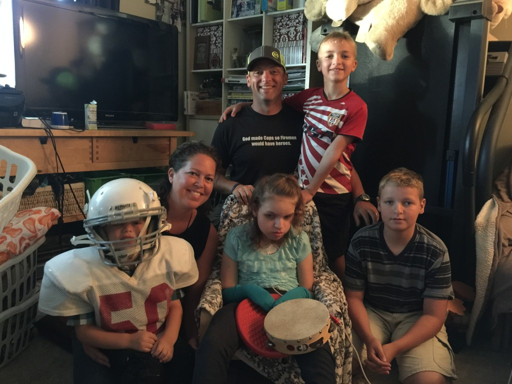 Representing the great state of Washington; The Marble Family of Dallesport.  Deputy Gaven Marble, his wife Megan and their 4 children, Isaac, Abigail, Ezekiel and Josiah need our help to raise funds for a wheelchair accessible van their entire family can utilize.