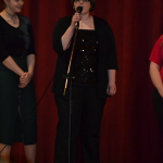 Jessy Singing Solo At Christmas Concert