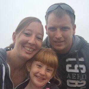 Heather, Shawn and Skylinn Bichler