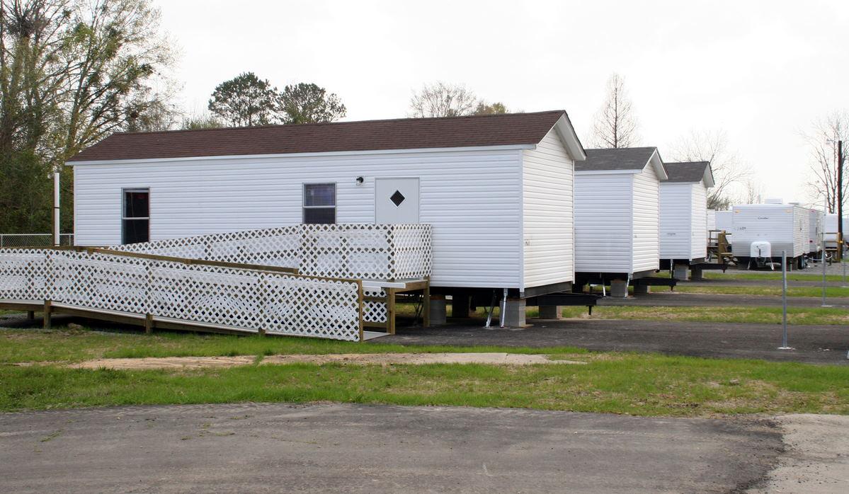 Park mobile homes
