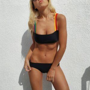 Top corpiño Rainbow VONKIS Bikinis