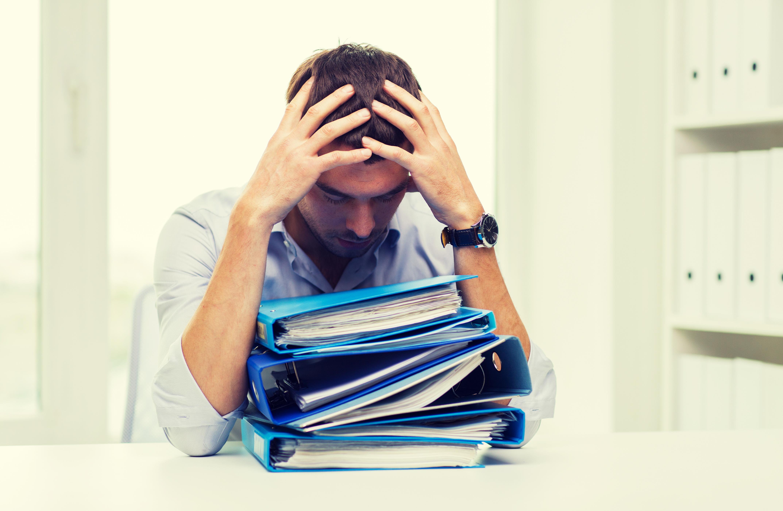 frustrated business owner slider