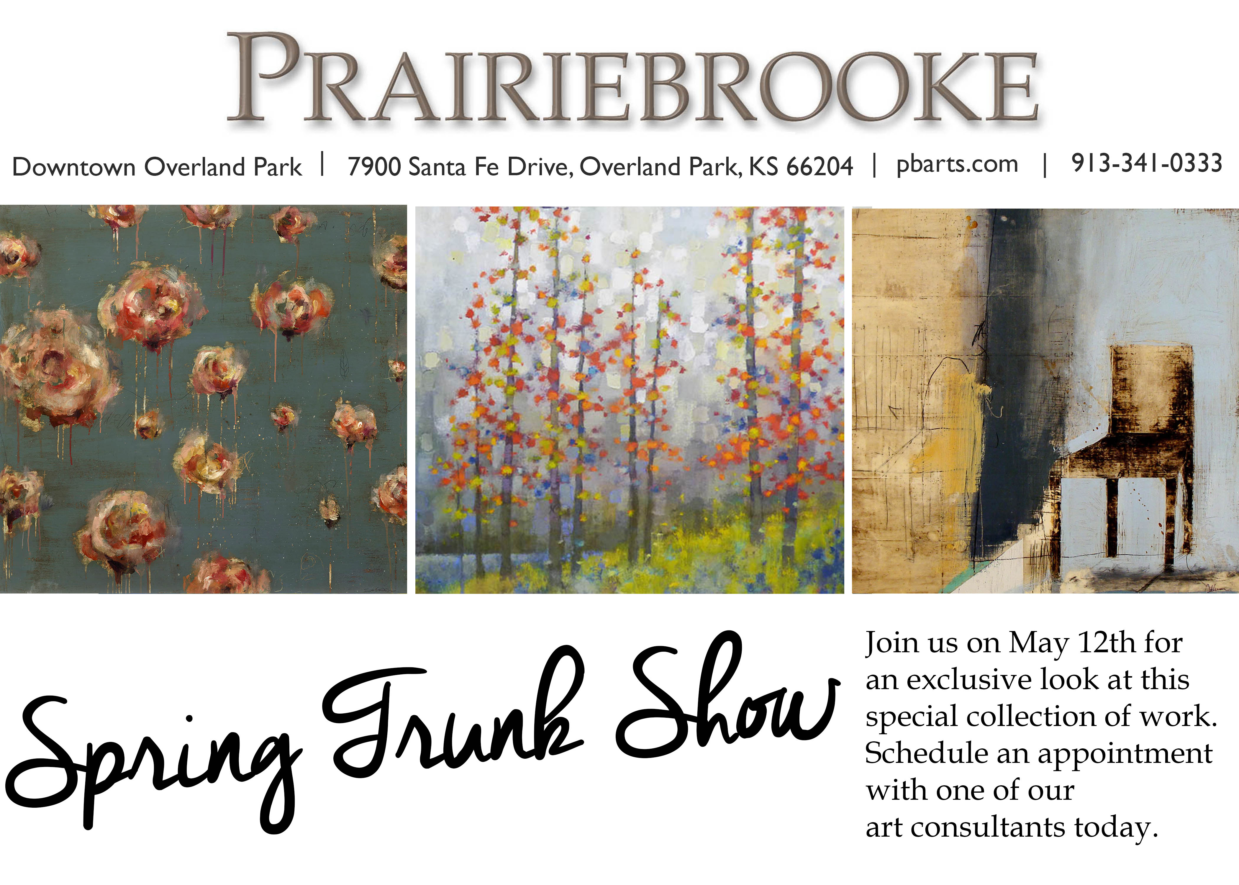 Spring Show card Trunk Show General