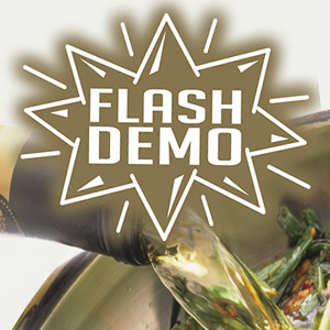 Flash Demo: Cooking with Wine