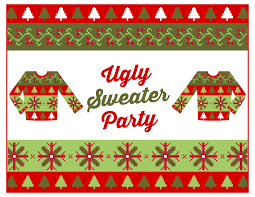 """""""Ugly Sweater"""" Happy Hour"""