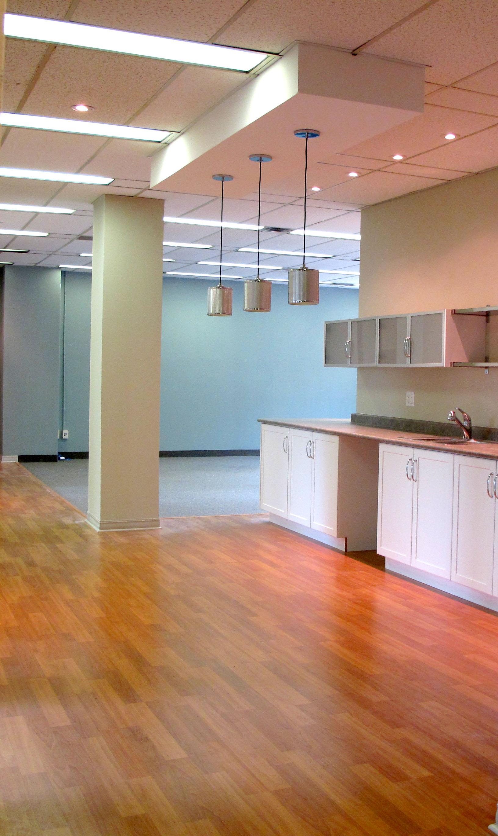 interior of professional office suite at 124 Merton St. Toronto