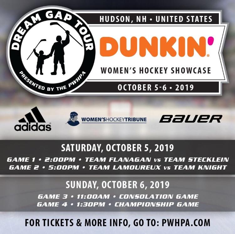 Women's Hockey Tribune To Sponsor 'Dream Gap Tour' In Hudson