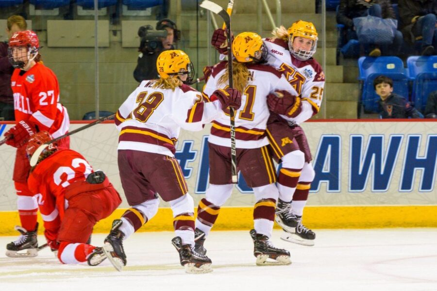 Minnesota Takes Over As Number One Team In Nation
