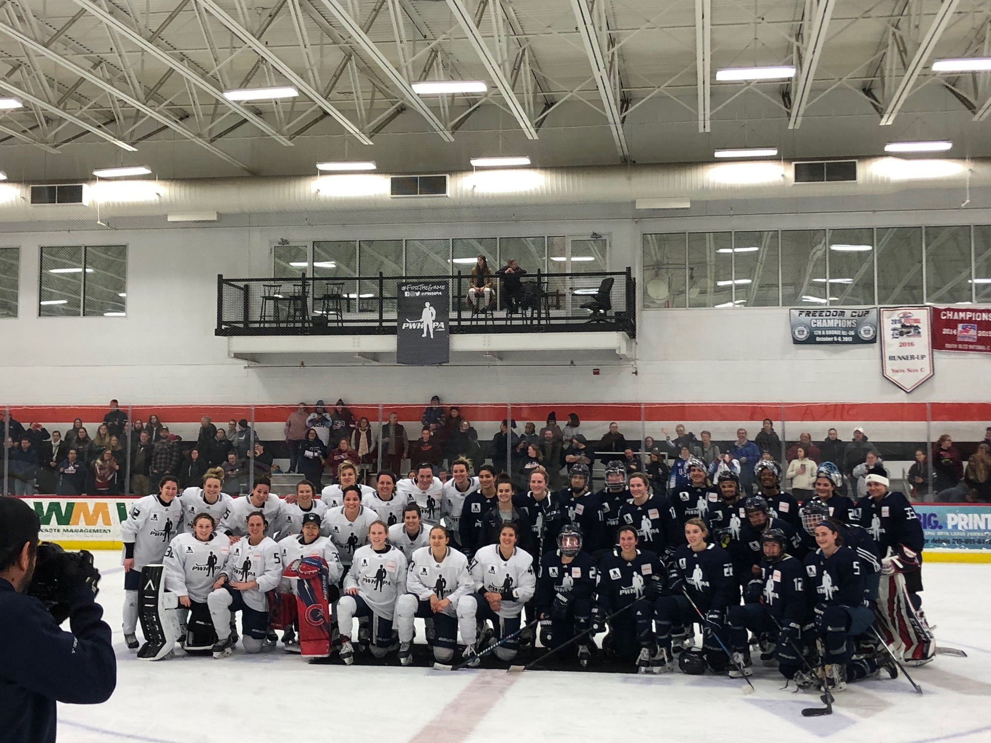 BIRINGER: CROWD ATTENDANCE SHOWS THERE IS A DEMAND FOR WOMEN'S HOCKEY