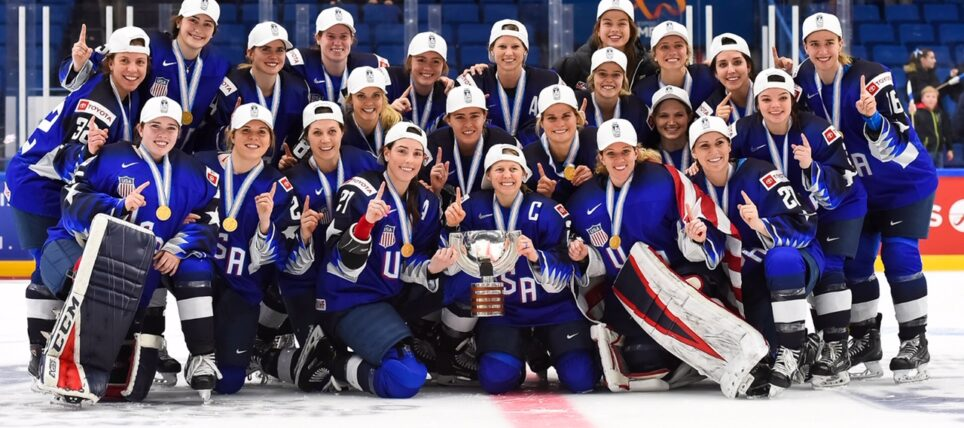 Women's Hockey Finally Getting It's Day To Shine On Television