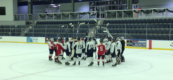 PWHPA 'All-Stars' Defeat Junior Bruins 2-1