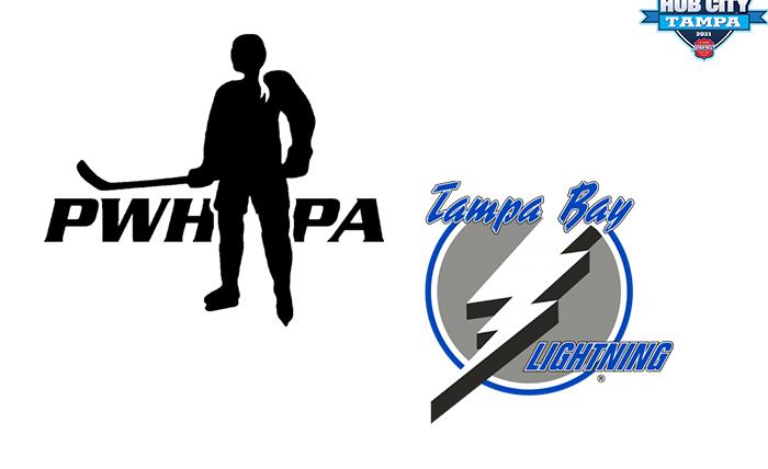 PWHPA, Tampa Bay Lightning Team Up In Hub City Tampa