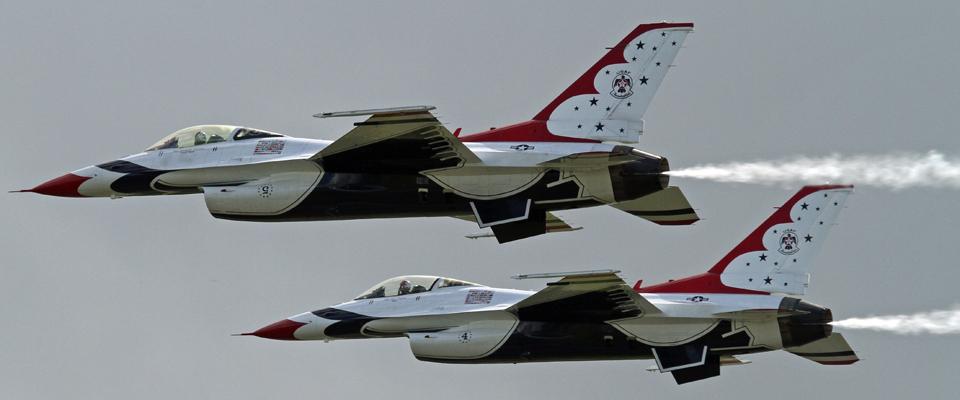 Photo Gallery: 10/26/20 USAF Thunderbirds arrive in Sanford