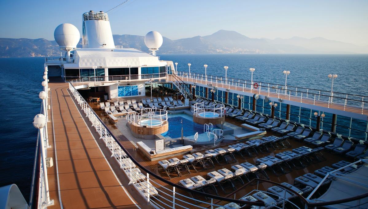 Azamara cruise deck