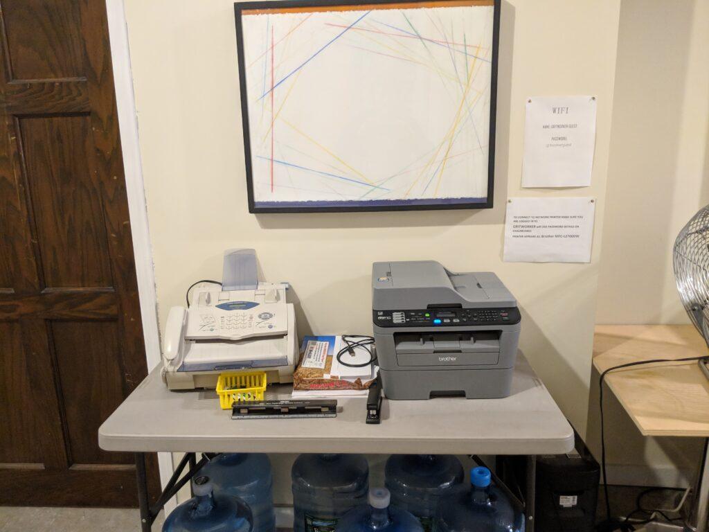New printer copier fax