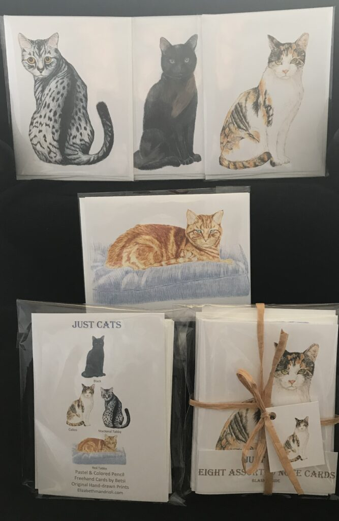 #1 Eight Assorted Cats (two of each)