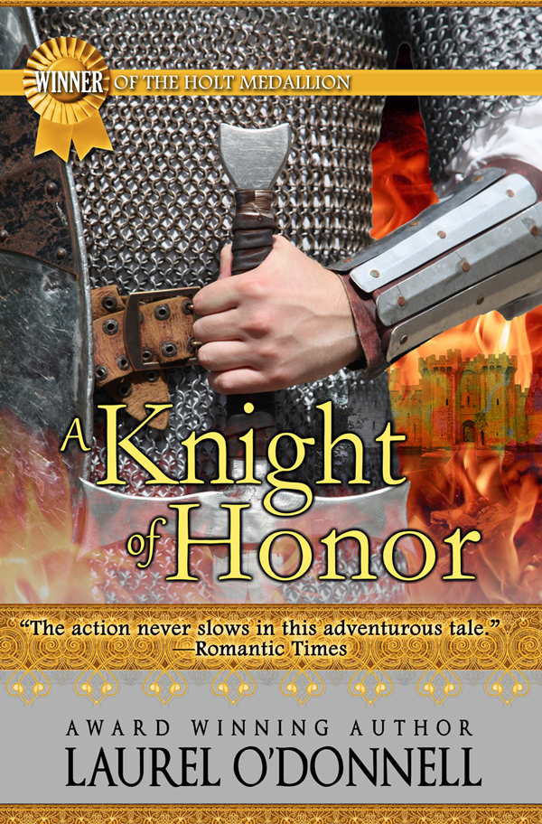 Romance novel book cover for A Knight of Honor