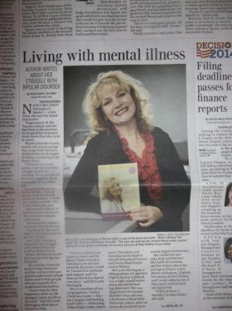 Living with mental illness Youngstown Vindicator February 1 2014