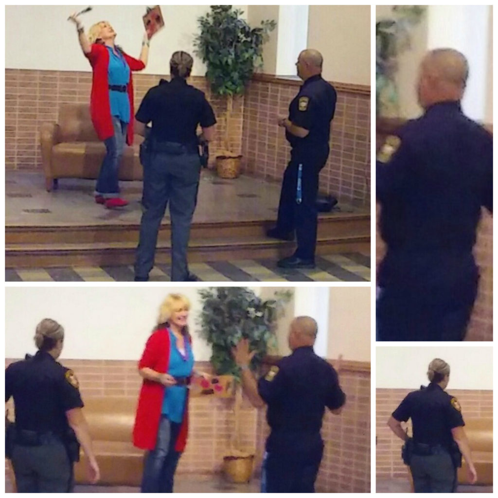 Role-playing at the Crisis Intervention Team Training in Warren Ohio Oct 21 2016