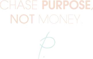 Patrice Washington - Chase Purpose, Not Money.