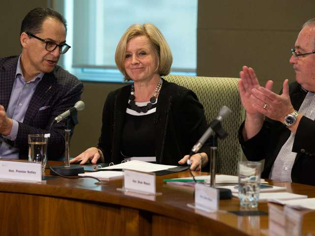 No pipelines? No carbon taxes. That's what Rachel Notley needs to tell Trudeau