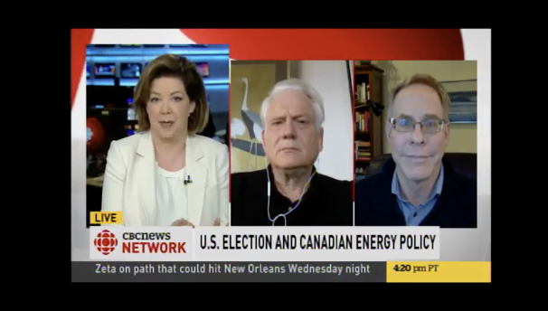 CBC News Network U.S. Election And Canadian Energy Policy