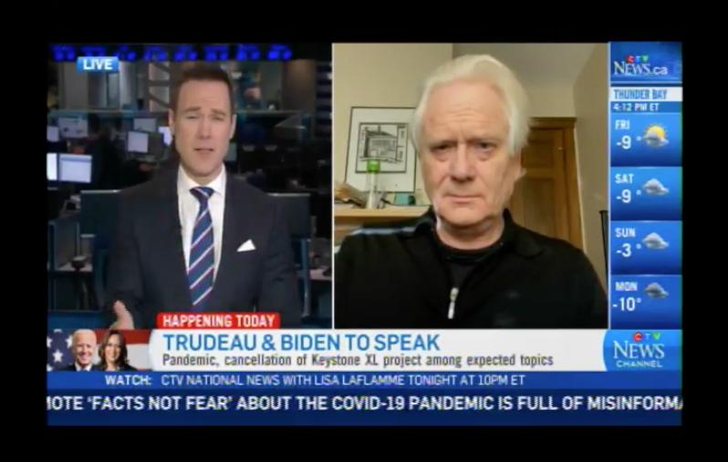 Biden Cancels Keystone XL – CTV News Interview