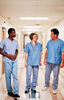 Health Care Aides in hospital