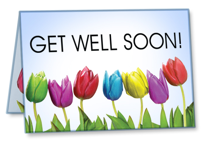 Get Well Cards (Package of 10)