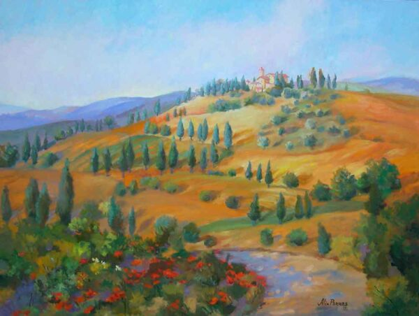 Golden Fields in Tuscany