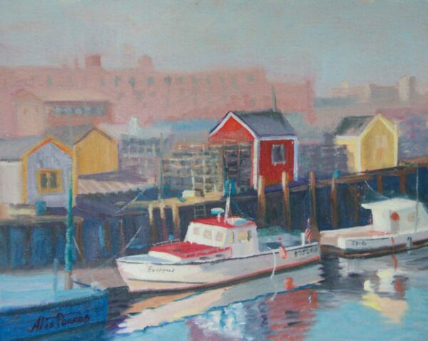Lobster Boats of New England