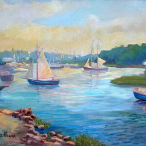 Sailing on a Sunny